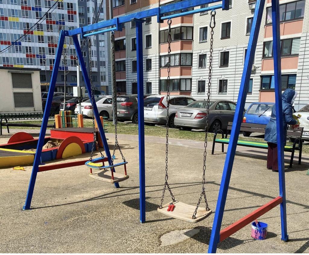 Детская площадка Изумрудный, 1